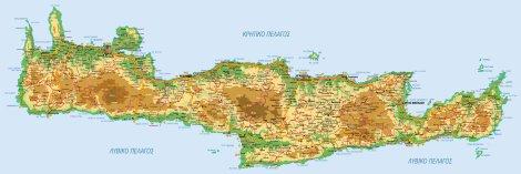 Ostrov Kreta Blog Archive Pekne Mapy Krety Ke Stazeni